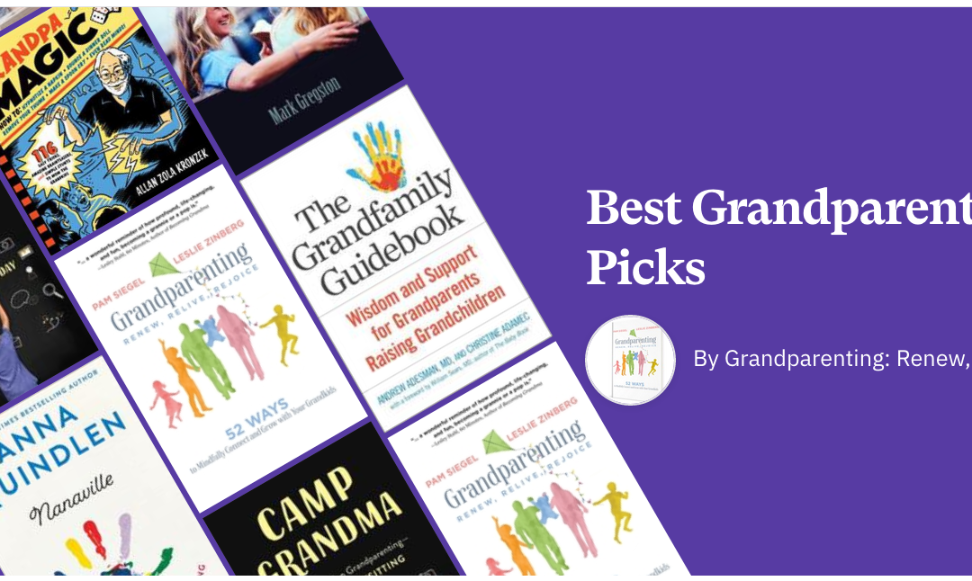 Fantastic Book Resources for Grandparents, Parents and Grandkids Too!